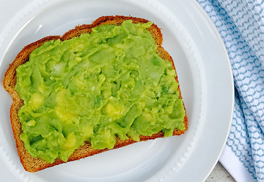 simply avocado toast wholly guacamole