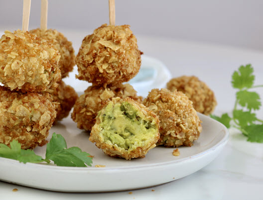 Fried Guacamole Bites