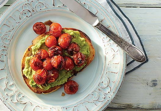pan-roasted-tomato-avocado-toast