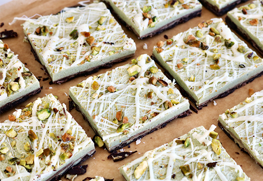 Avocado Fudge Bark