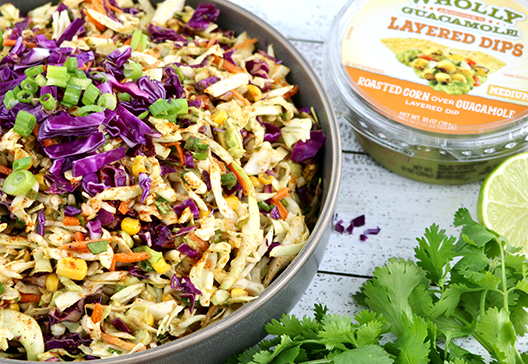 Roasted Corn Coleslaw Recipe